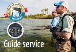 Fischen-Führerdienst für Meerforelle an Dänemark Fischer