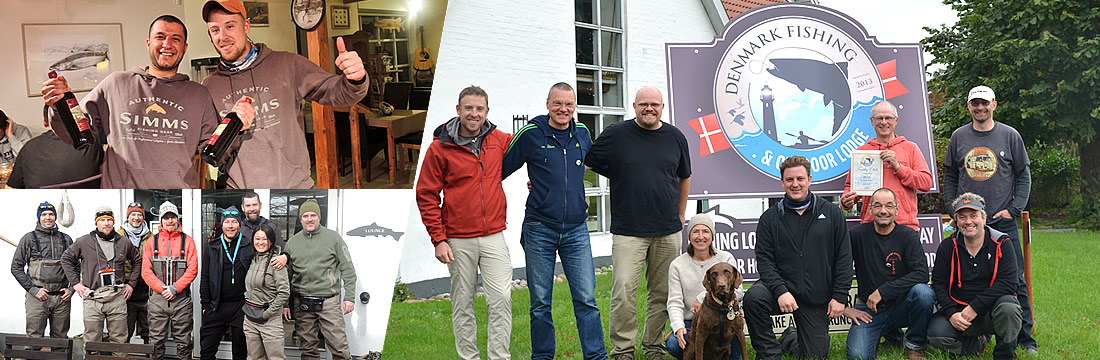 sea trout Fishing seminars and events at denmark fishing lodge fyn