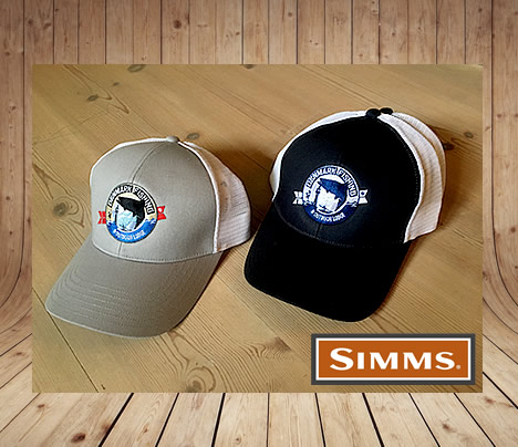 simms trucker cap lodge wear