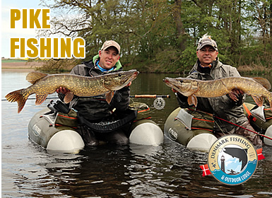 pike fishing in our private waters