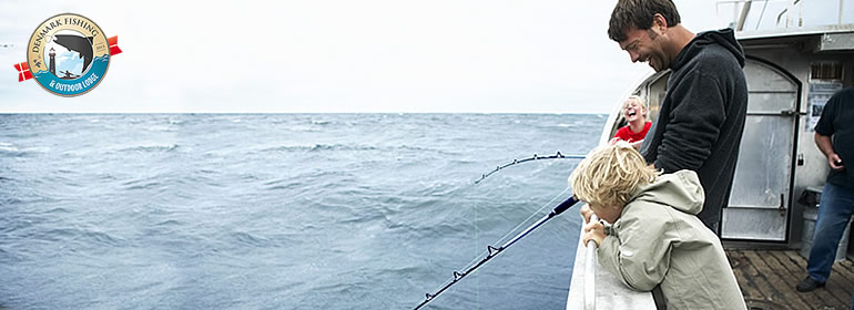 Sea fishing for cod and flounders